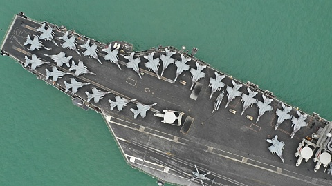 America sends aircraft carrier to the Middle East | Sky News Australia