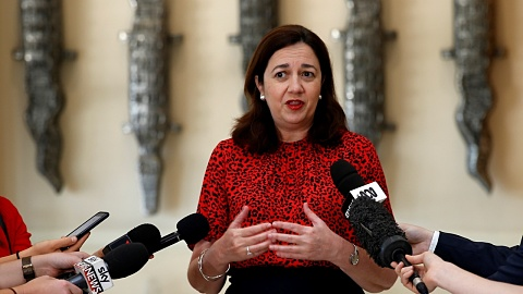 Palaszczuk returns to Queensland to oversee bushfire crisis | Sky News Australia