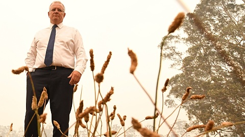 PM visits regional NSW after announcing $47 million drought commitment | Sky News Australia