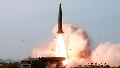 North Korea fires unidentified projectiles into the East Sea | Sky News Australia
