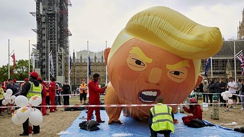 Trump 'baby blimp' set to fly | Sky News Australia