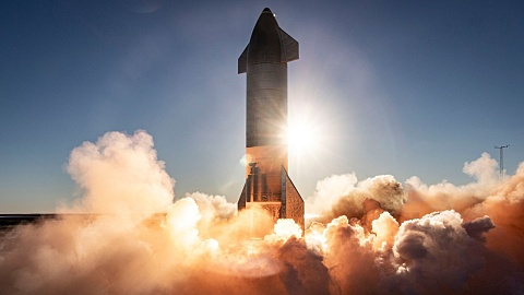 SpaceX Starship prototype crash 'mostly a success' despite explosion   Sky News Australia