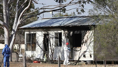Man charged with murder after two die in house fire in Tamworth, NSW | Sky News Australia