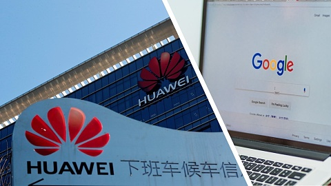 Google blocks Huawei's access to Android following blacklisting   Sky News Australia