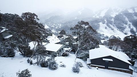 Deep snow at Australia's ski fields   Sky News Australia
