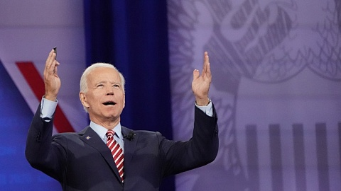 In his latest appearance Joe Biden 'forgets where he is then laughs it off'  | Sky News Australia