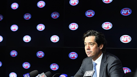 AFL fans 'should be able to express themselves freely' | Sky News Australia