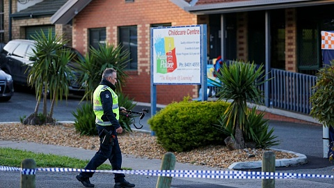 Toddler hit and killed by car outside Melbourne daycare centre | Sky News Australia