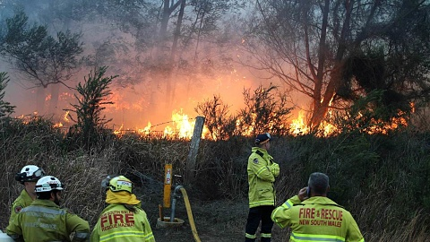 NSW bushfire that destroyed homes may have been deliberately lit   | Sky News Australia