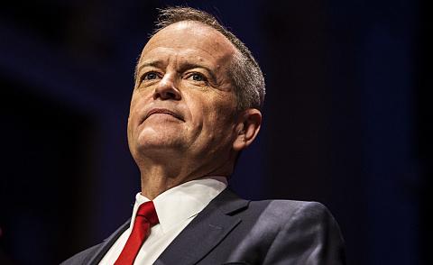 Shorten vows to raise minimum wage to 'living wage'