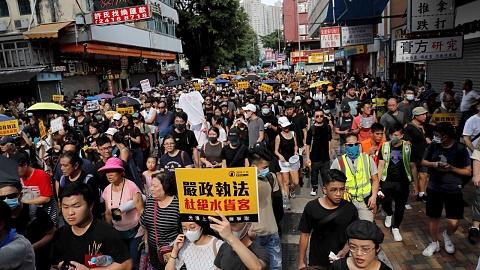 Hong Kong protestors withdraw money from Bank of China   Sky News Australia