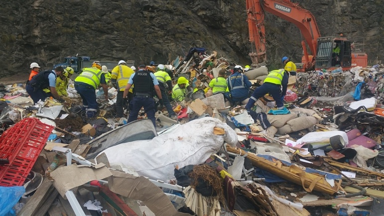 Man crushed to death at Sydney rubbish tip   Sky News Australia