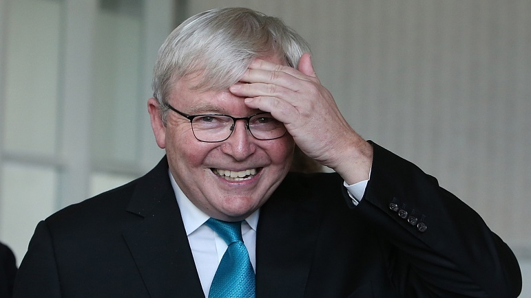 Kevin Rudd Floating Conspiracy Theories And Going Loco In Isolation Kenny Sky News Australia