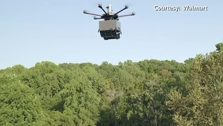 Walmart begins Drone Delivery Tests