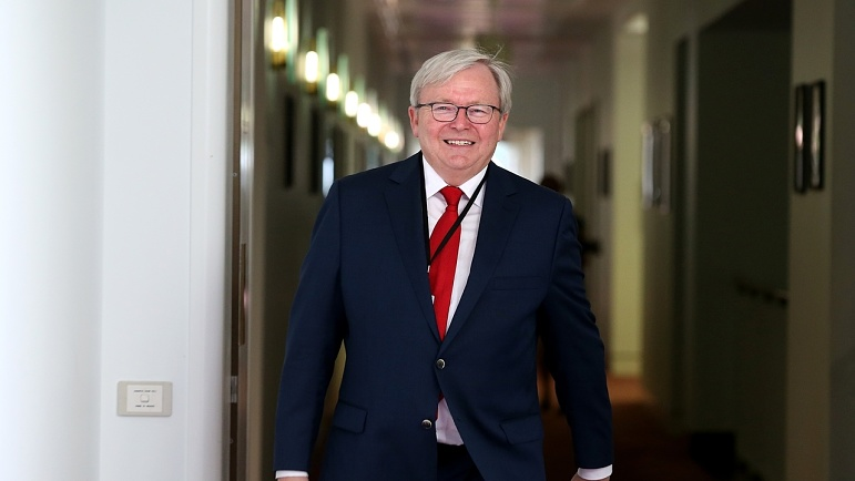 Kevin Rudd Is Desperate To Make Coronavirus About Him Sky News Australia